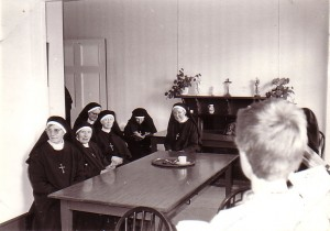 Nuns in the Dining Room