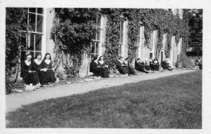 Nuns at West Ogwell House