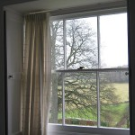 Gaia House Interior bedroom window