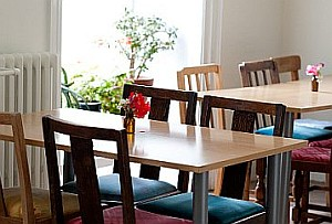 Dining Room at Gaia House