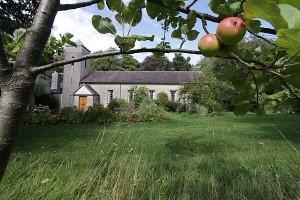 Gaia House and Gardens garden wing