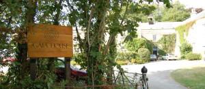 Entrance to Gaia House