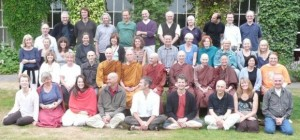 Gaia House teachers 2009