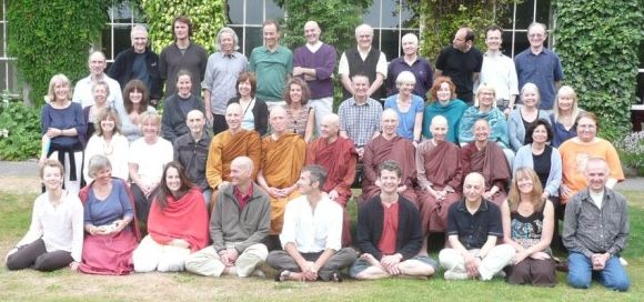 Gaia House teachers 2009