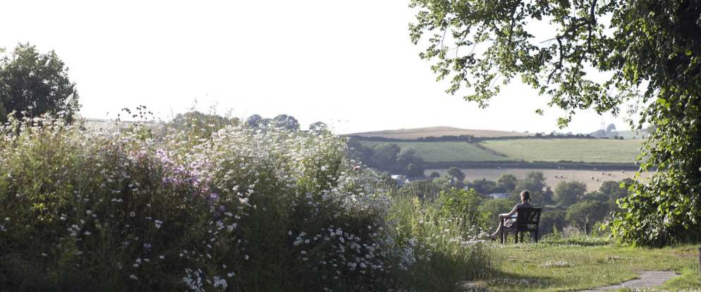 A peaceful location amid the Devon countryside.