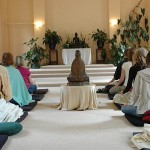 Meditation at Gaia House