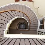 Gaia House Interior stairs