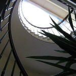 Gaia House Interior staircase